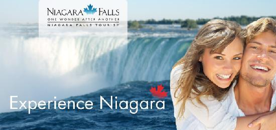 Zoom Tours Toronto to Niagara Falls: Niagara Falls Canada, Canadian Horseshoe Falls