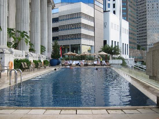 Pool Picture Of The Fullerton Hotel Singapore Singapore Tripadvisor