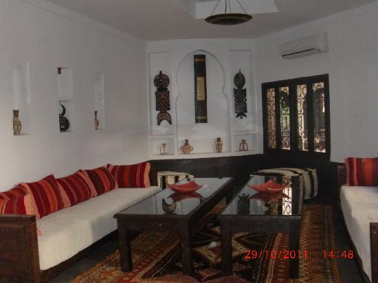 Les Sources Berberes Riad & Spa: 1 des salons