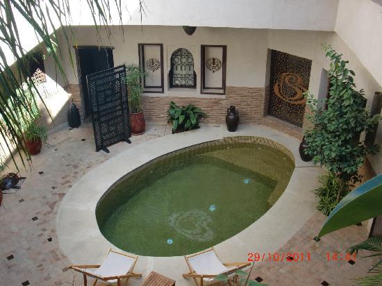 Les Sources Berberes Riad & Spa: piscine