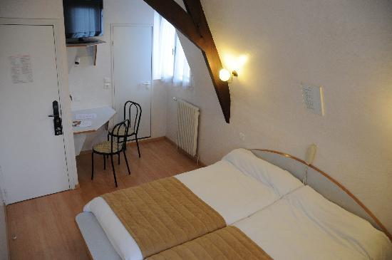 Hotel de Rosny: Chambre Twin -/Twin room