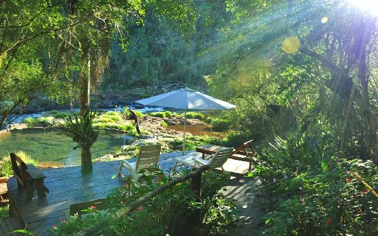 El Soberbio, Argentina: Nuestra Pileta natural a Orillas del Arroyo