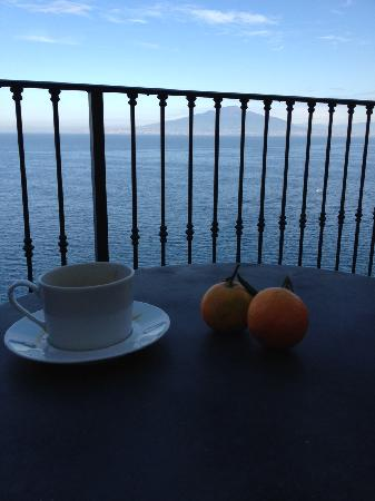 Imperial Hotel Tramontano: Terrace View