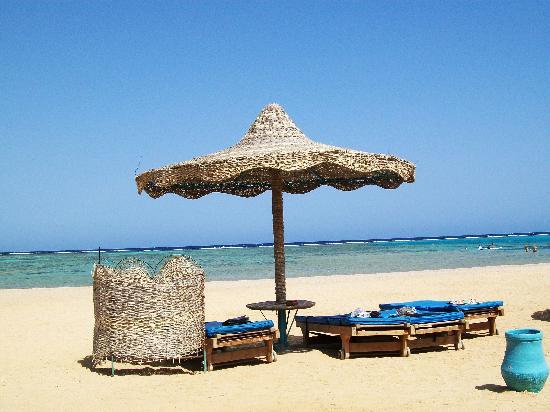 SENTIDO Oriental Dream Resort : Il nostro ombrellone