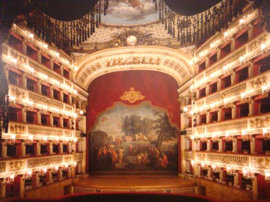 Foyer San Carlo Opera House Picture Of Teatro Di San