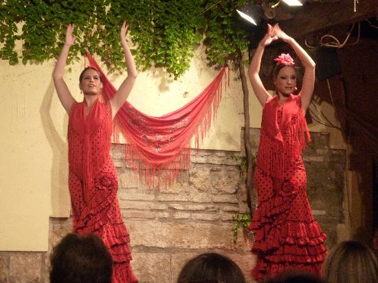 Tablao Flamenco Cardenal: cuadro