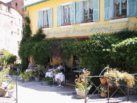 Beausejour : Restaurant Beau Sejours, Gorbio - exterior