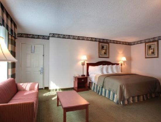 Studio City Court Yard Hotel: King Suite