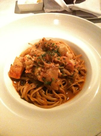 The Parlour: spaghetti with lobster