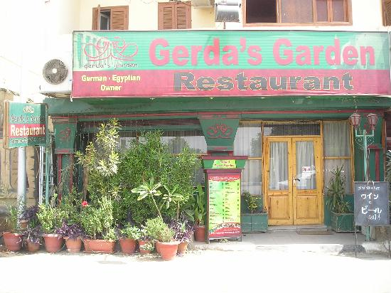 Gerda's Garden : the restaurant