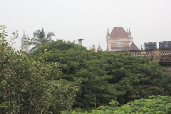 YWCA International Guest House: Blick vom Balkon