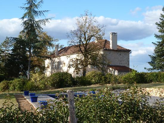 Domaine des Faures : house view