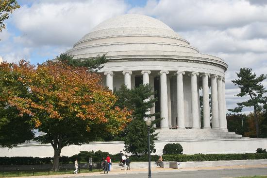 Washington DC, DC: mémorial thomas jefferson