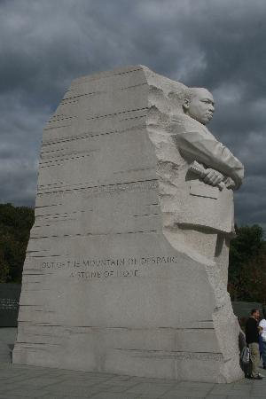 Washington DC, DC: mémorial martin luther king