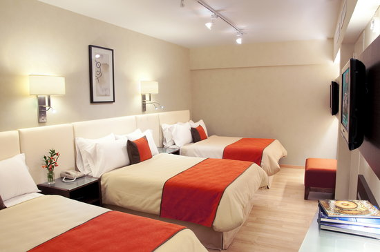 Regente Palace Hotel: Junior Suite 3 beds
