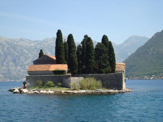 Kotor, Montenegro: isola di San Giorgio