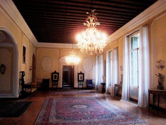 Villa Pisani - il piano nobile