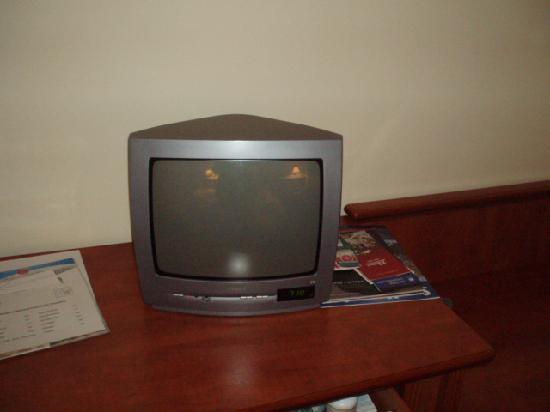 Spa Hotel Cajkovskij: small tv!