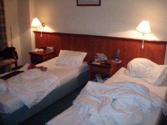 Spa Hotel Cajkovskij: 2 small beds!