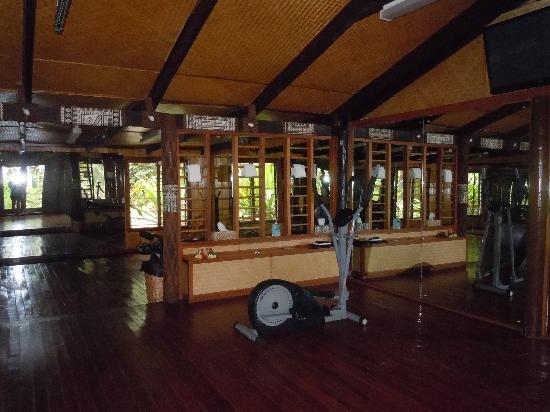 Tavarua Island Resort: The gym