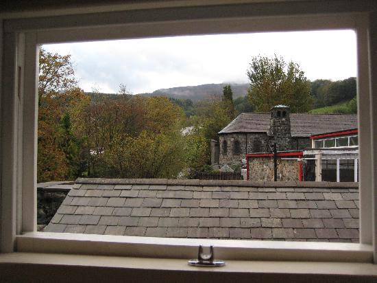 Y Meirionnydd: View from the room.