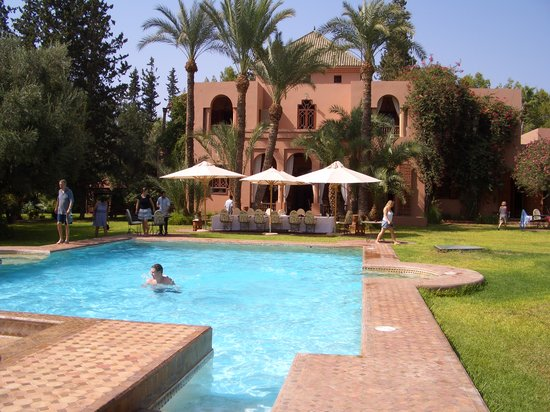 Dar Ayniwen Garden Hotel & Bird Zoo : The Pool