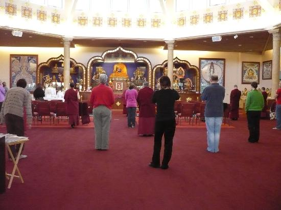 Kadampa Meditation Center New York and World Peace Temple: Inside the Temple