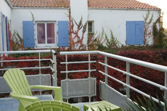 Atlantic Hôtel : vue terrasse