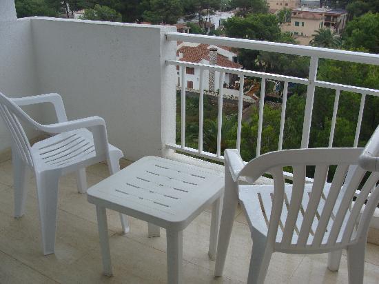 Hotel Oleander: balcon