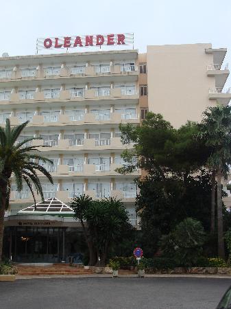 Hotel Oleander : vue face