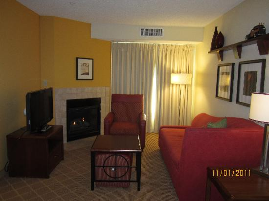 Residence Inn Denver Highlands Ranch : Living room area
