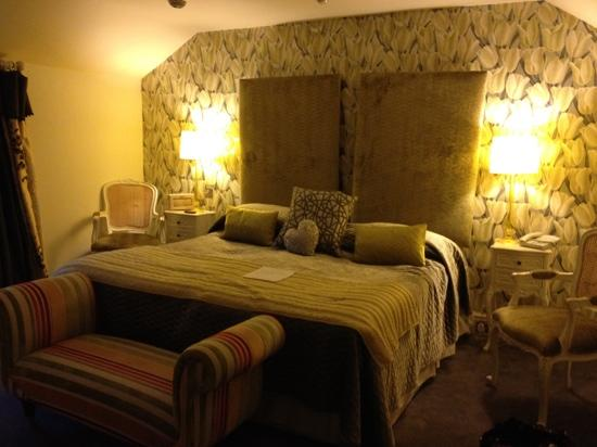 Boscundle Manor Hotel Restaurant and Spa: our lovely room