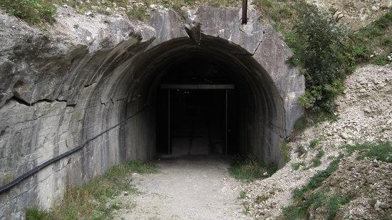 Forteresse de Mimoyecques : Entrance