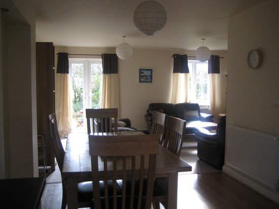 Beach house deck picture of the bay filey tripadvisor for Perfect kitchen scarborough