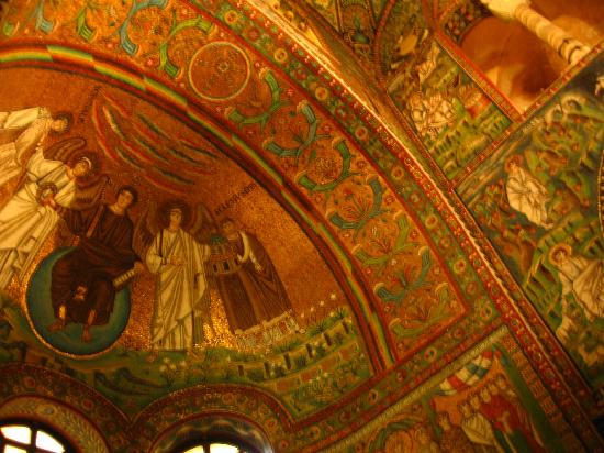 Galla Placidia Bed and Breakfast: No picture can capture the dazzling mosaics