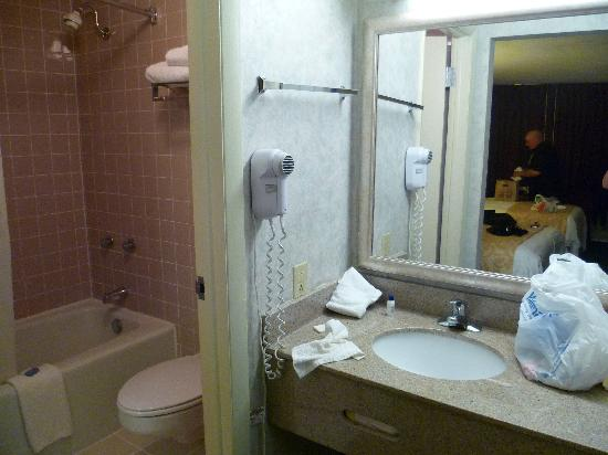 Clarion Inn & Conference Center: bathroom