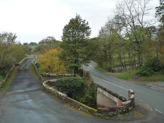 Abbey Bridge - view from Askerton room