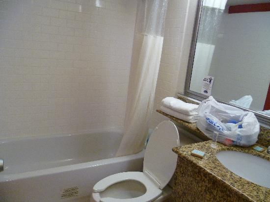 Travelodge Virginia Beach: bathroom