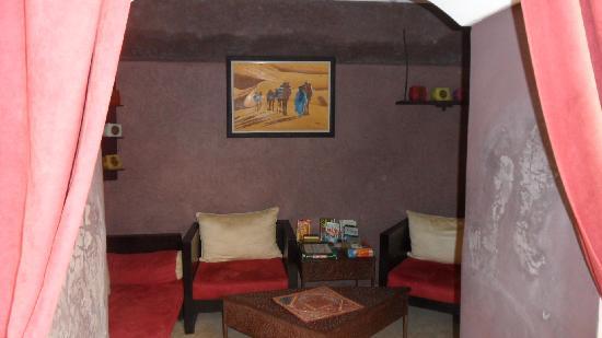 Riad Sidi Mimoune: Lounge