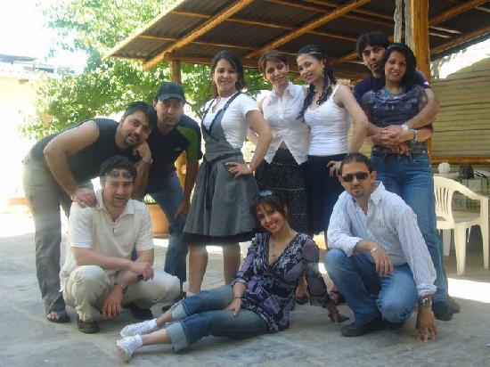 Areg Hotel: friends