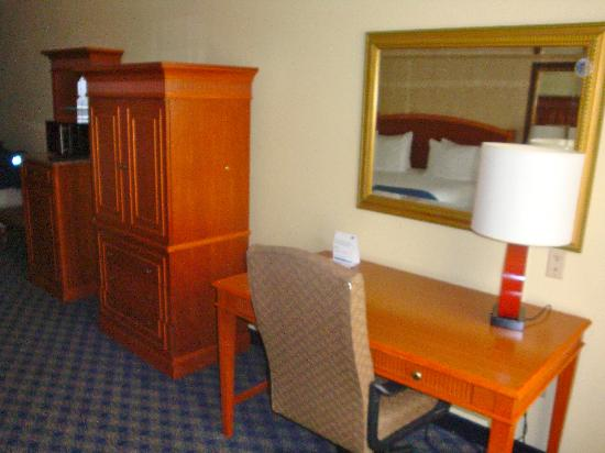Holiday Inn Express Hotel & Suites The Woodlands: Desk
