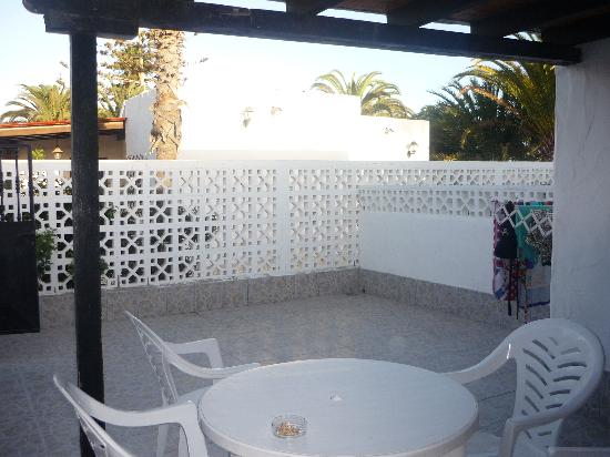 Santa Clara Bungalows: Terrace