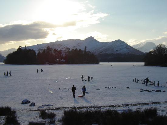 Hedgehog Hill: A Frozen Derwentwater