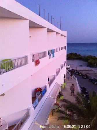 Maysi Hostal: vista desde balcón
