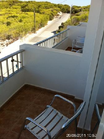 Maysi Hostal : balcón habitación