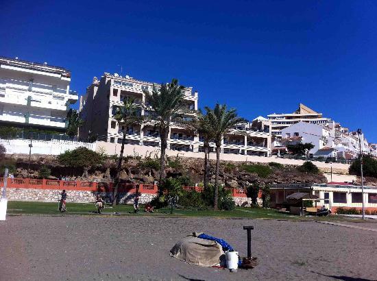 Vincci Seleccion Aleysa Hotel Boutique & Spa: Hotel from Beach