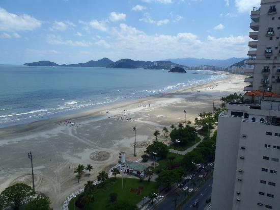 Mercure Santos : view from the room balcony