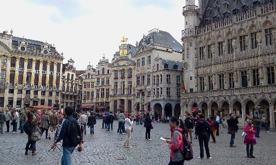 Saint-Josse-ten-Noode, België: Brussels Old Town Center