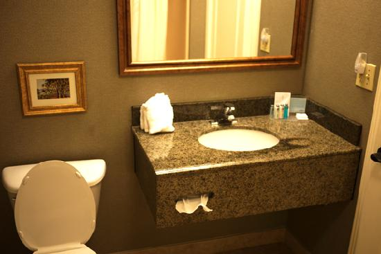 Hampton Inn Ukiah: Bathroom.