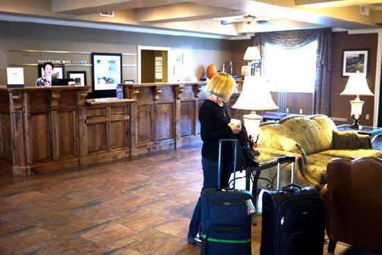 Hampton Inn Ukiah: Hotel's lobby.